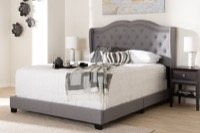 Bedroom Furniture Panel Bed Frame (Box Spring Required)