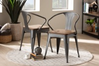 Dining Chairs Rustic Industrial