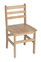 "Regency Classrrom Chair - Atlas 18"" Chair - Natural"