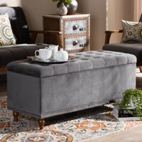 Living Room Ottoman Storage Bench