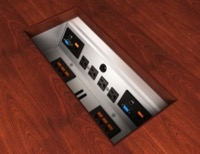 Under Table Power Data Module