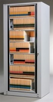 Mayline ARC Rotary File Cabinets - 6-Tier