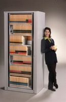 Mayline ARC Rotary File Cabinets - 7-Tier