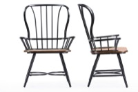 Dining Chairs Vintage Metal