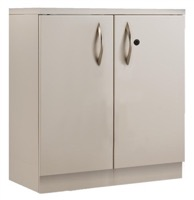 Great Openings Storage - Double Door Cabinet - 3-High 2 Shelves
