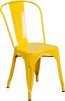 Yellow Metal Chair
