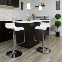Adjustable Height Contemporary Bar Stools