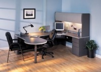 Mayline Office Furniture CSII P-Table Desks