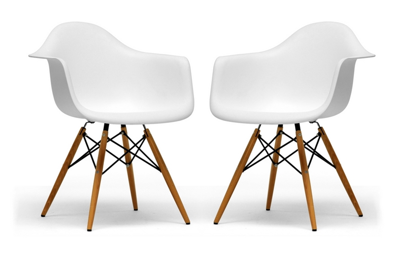 Eames Inspired Molded Plastic Chair Sit Socialize and Enjoy