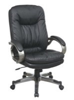 WorkSmart Leather Chair