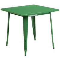 Green Metal Indoor Table