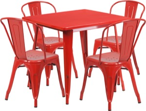 Indoor Outdoor Table and Chair Sets