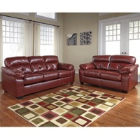 Crimson DuraBlend Living Set