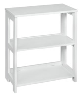"Flip Flop 28"" High Folding Bookcase - White"