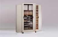 "Mayline File Harbor Cabinets on Kwik-Track -  2/1 System 78""W x 38 1/2""D x 85""H  LFI  651"""