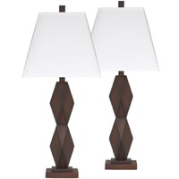Natane Dark Brown Poly Lamp