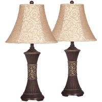 Mariana Bronze Poly Lamp