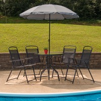 Patio Table Set Umbrella