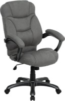 Gray Microfiber office chair