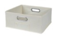 Niche Cubo Half-Size Foldable Fabric Storage Bin - Natural