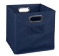 Niche Cubo Foldable Fabric Storage Bin - Blue