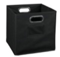 Niche Cubo Foldable Fabric Storage Bin - Black