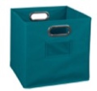Niche Cubo Foldable Fabric Storage Bin - Teal