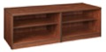 Legacy Double Open Shelf Low Credenza - Cherry