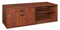 "Regency Legacy Office Storage - Lateral Open Shelf Low Credenza - 60"" x 20"" x 20"""