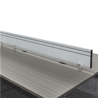 "EVEN, Slatwall divider for 72""W workspace"