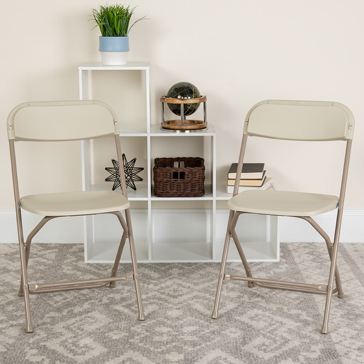 Ordinaire Beige Folding Chair. View Larger Photo Email ...