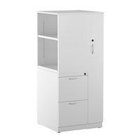"Great Openings Wardrobe Bookcase Tower 3 Drawer File - 56""H"