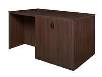 Regency Legacy - Stand Up Station - 2 Lateral Files, 1 Desk, 1 Storage Cabinet