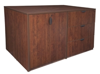 Regency Legacy - Stand Up Station - 2 Storage Cabinet 2 Lateral Files