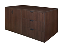 Regency Legacy - Stand Up Station - 3 Lateral Files, 1 Storage Cabinet