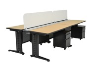 "Fusion Benching Systems - Dual-Sided 72"" Workstations"