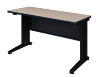 "Fusion 42"" x 24"" Training Table - Beige"