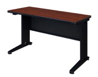 "Fusion 48"" x 24"" Training Table - Cherry"