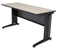 "Regency Fusion Training Table with Modesty Panel - 66"" x 24"""