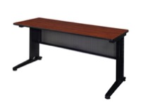 "Fusion 72"" x 24"" Training Table - Cherry"