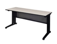 "Fusion 72"" x 24"" Training Table - Maple"