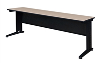 "Regency Fusion Training Table with Modesty Panel - 84"" x 24"""