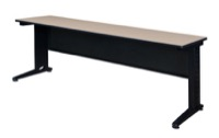 "Fusion 84"" x 24"" Training Table - Beige"