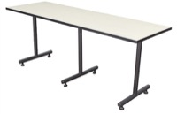 "Regency Kobe T-Base Training Table - 84"" x 24"""
