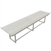 Mirella Conference Table - Standing-Height, 16 ft.