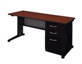 "Regency Fusion Executive Office - Desk, Single File Cabinet - 72"" x 30"""