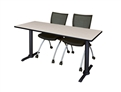 "Cain Cafe High Top Table - 66"" x 24"" x 42"""