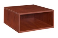 Niche Cubo Half Size Stackable Storage Cube - Warm Cherry