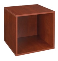 Niche Cubo Stackable Storage Cube  - Cherry
