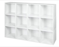 Niche Cubo Storage Set  - 12 Cubes - White Wood Grain